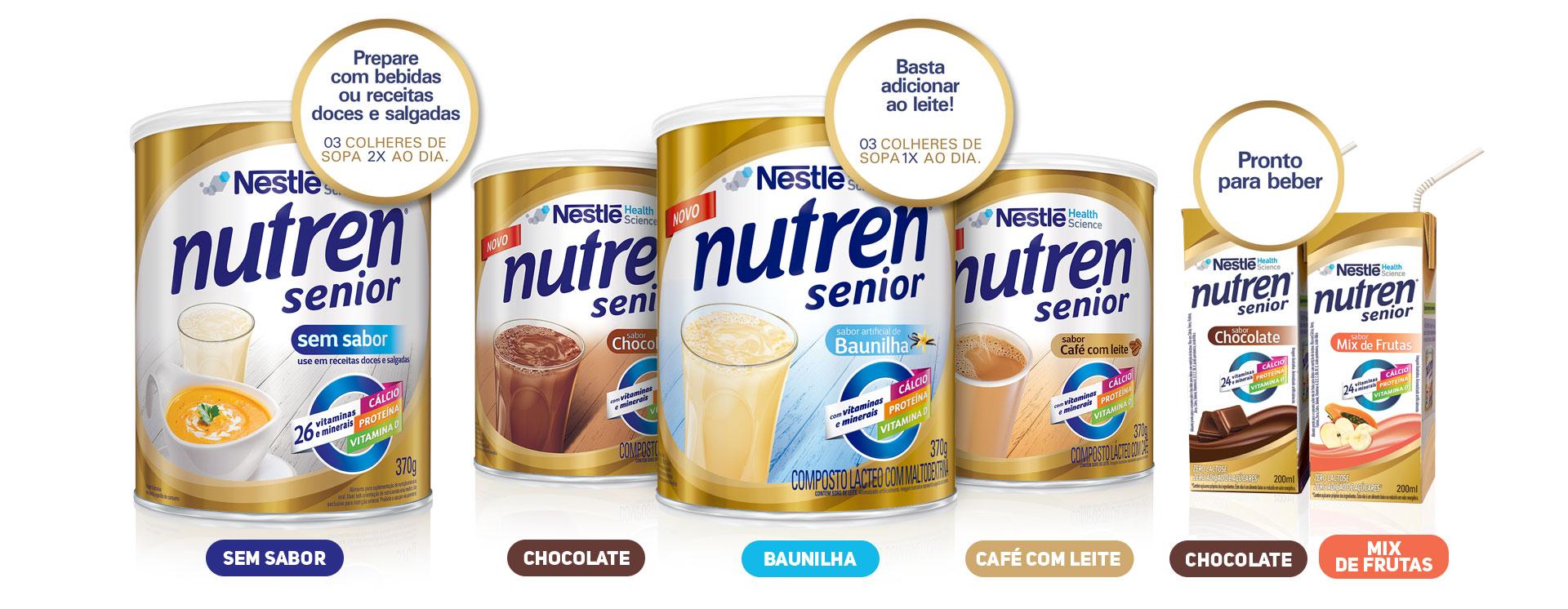 Suplemento Alimentar Nestl Nutren Senior Sem Sabor 740g Drogarias Diabetes No Dia A